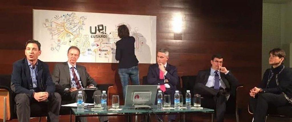 "Graphic Recording ""Up! Euskadi Intraemprendimiento"""