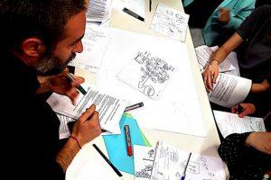 Elaboración de la identidad y decálogo del trabajo de Bizitegi