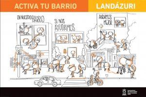 Diseño de imagen para el programa «Activa tu barrio. Itinerarios seguros»