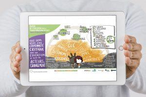 Graphic digital para Educo ONG