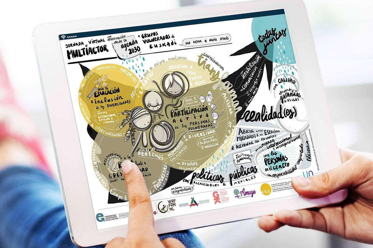 Graphic digital para Uneskoetxea